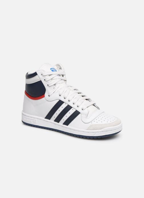 Baskets adidas originals Top Ten Hi Blanc vue détail/paire