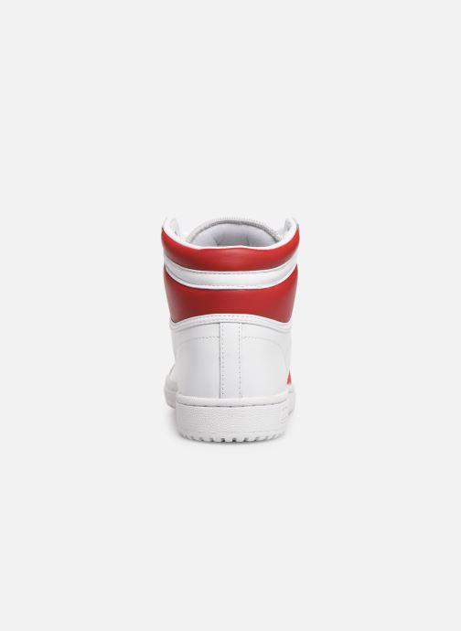 Sneakers adidas originals Top Ten Hi Wit rechts