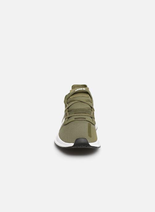 Baskets adidas originals U_Path Run Vert vue portées chaussures