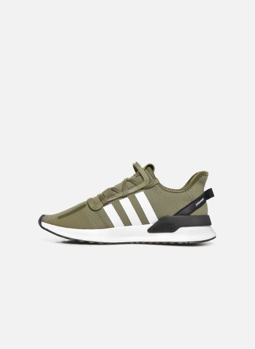 Trainers adidas originals U_Path Run Green front view