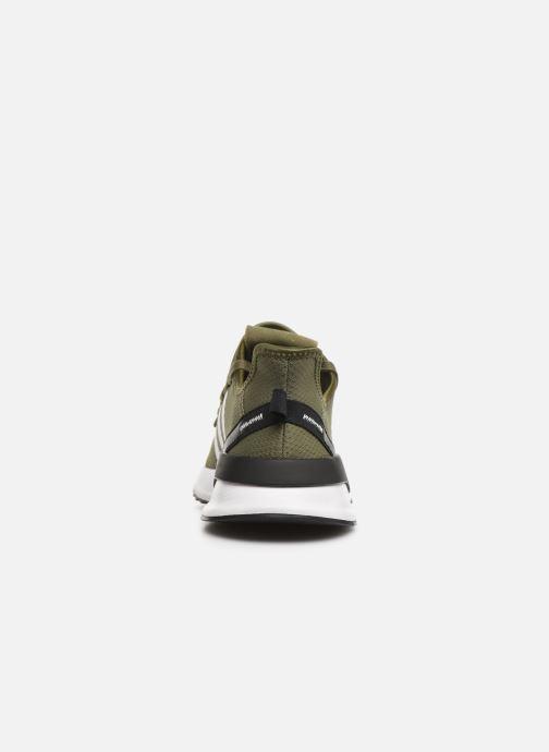 Baskets adidas originals U_Path Run Vert vue droite