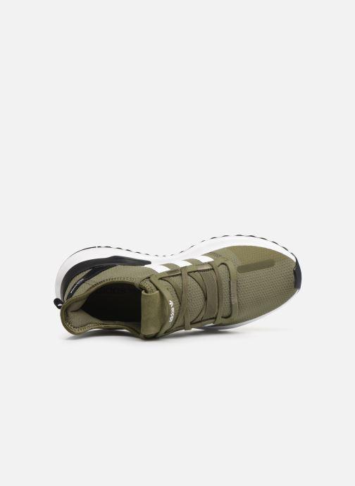 Baskets adidas originals U_Path Run Vert vue gauche
