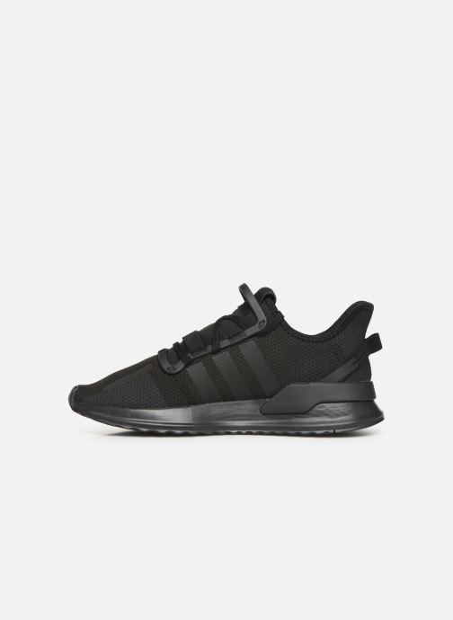 Sneaker adidas originals U_Path Run schwarz ansicht von vorne
