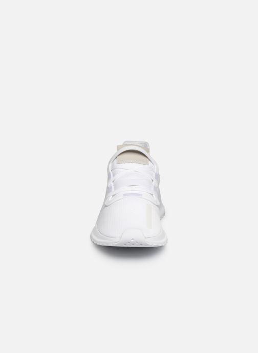 Baskets adidas originals U_Path Run Blanc vue portées chaussures