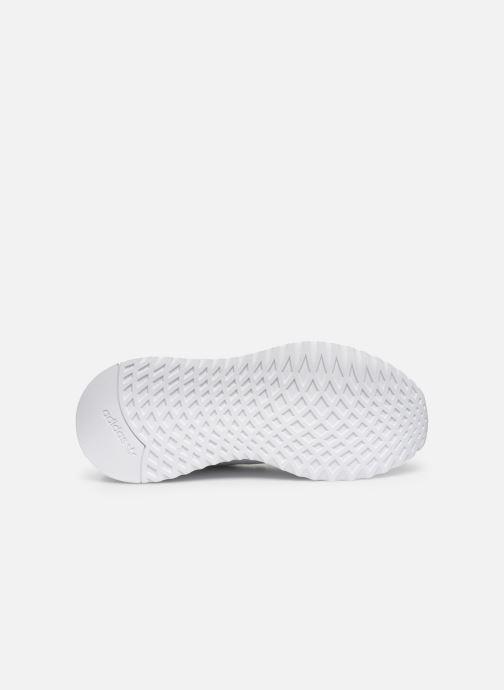 Baskets adidas originals U_Path Run Blanc vue haut