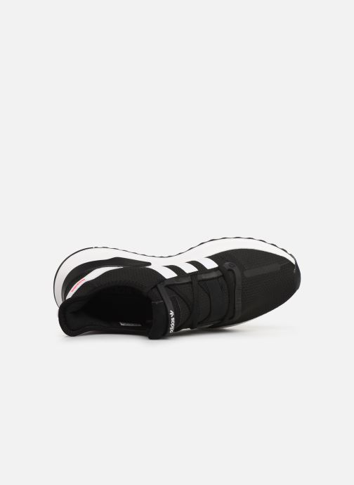 Trainers adidas originals U_Path Run Black view from the left