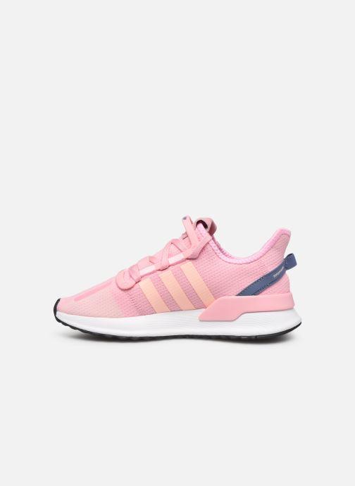 Sneakers adidas originals U_Path Run W Rosa bild från framsidan
