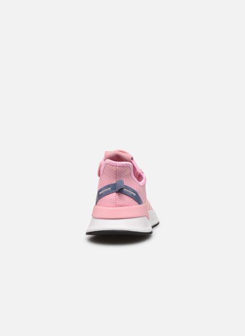 Sneakers adidas originals U_Path Run W Rosa Bild från höger sidan