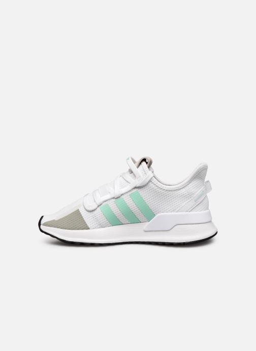 Sneaker adidas originals U_Path Run W weiß ansicht von vorne