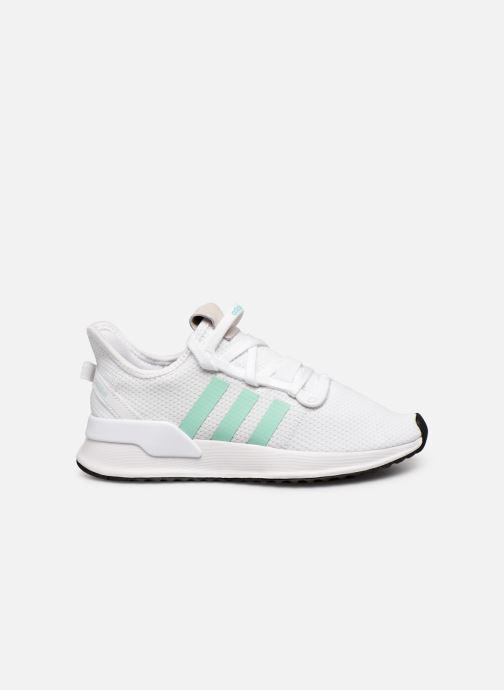 Baskets adidas originals U_Path Run W Blanc vue derrière