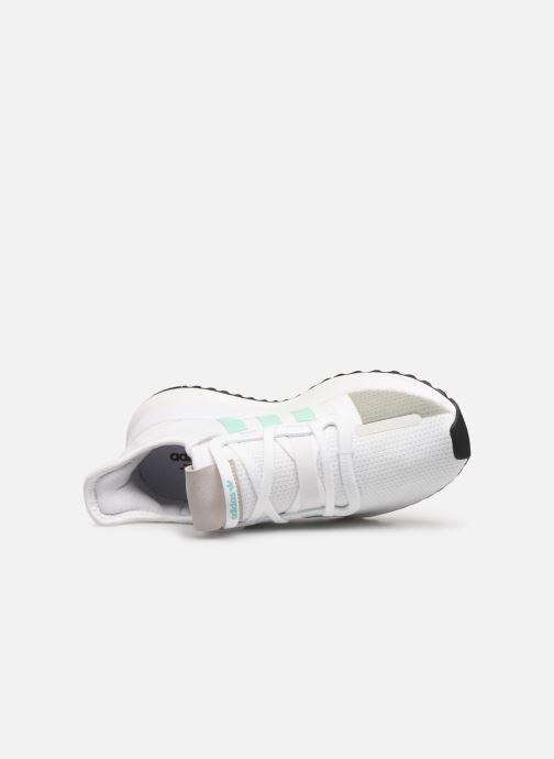 Baskets adidas originals U_Path Run W Blanc vue gauche
