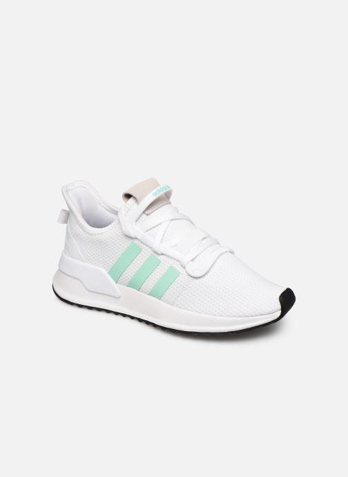 Baskets adidas originals U_Path Run W Blanc vue détail/paire