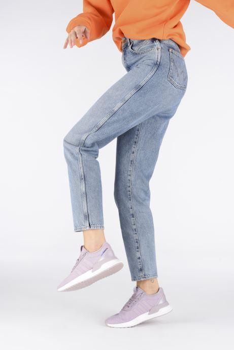 Sneaker adidas originals U_Path Run W rosa ansicht von unten / tasche getragen