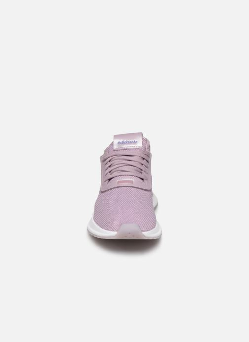 Baskets adidas originals U_Path Run W Rose vue portées chaussures