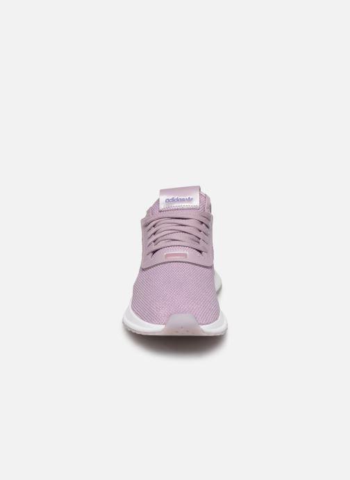 Baskets adidas originals U_Path Run W Rose vue portées chaussures