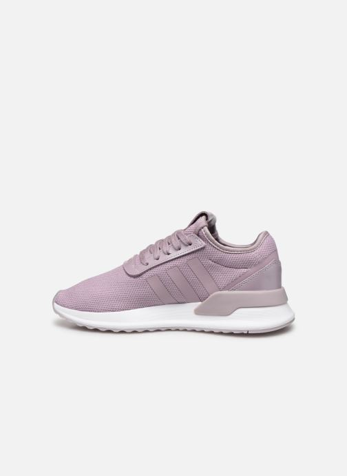 Baskets adidas originals U_Path Run W Rose vue face