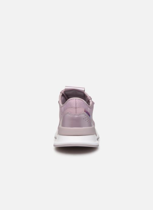 Baskets adidas originals U_Path Run W Rose vue droite