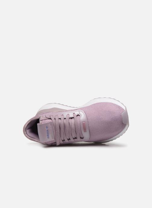 Baskets adidas originals U_Path Run W Rose vue gauche