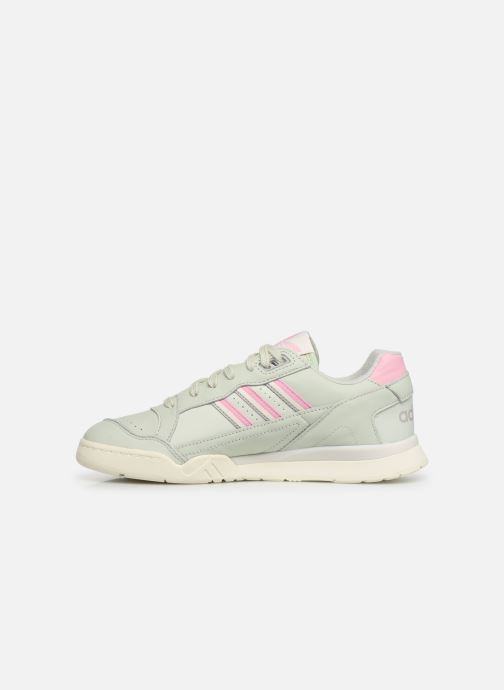Baskets adidas originals A.R. Trainer Vert vue face