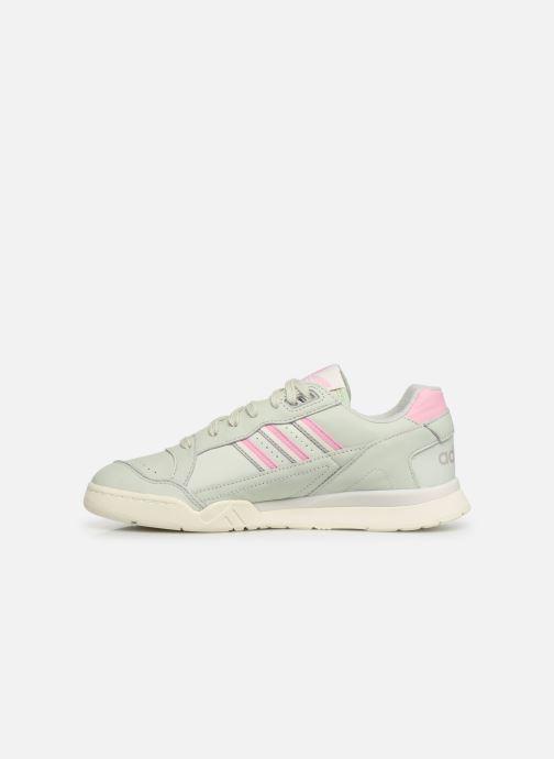 Sneaker adidas originals A.R. Trainer grün ansicht von vorne