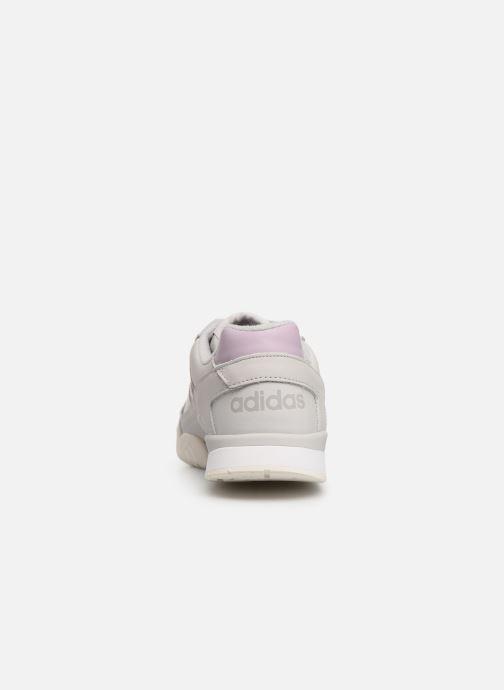 Baskets adidas originals A.R. Trainer W Gris vue droite
