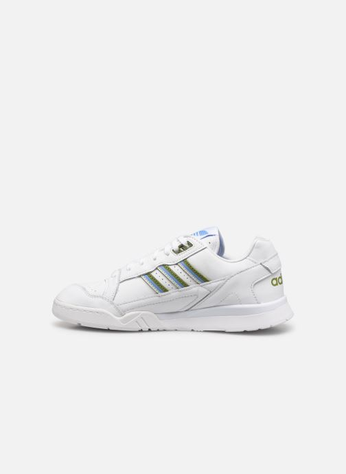 Sneakers adidas originals A.R. Trainer W Wit voorkant