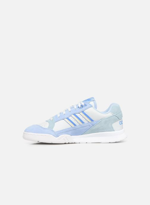 Baskets adidas originals A.R. Trainer W Bleu vue face