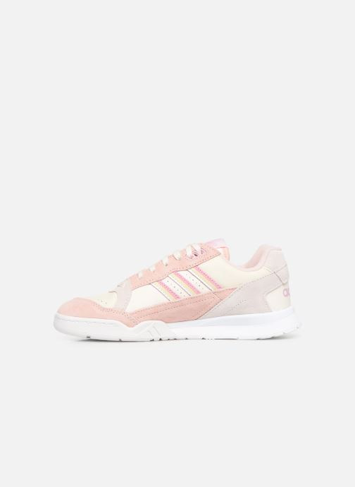 Baskets adidas originals A.R. Trainer W Rose vue face