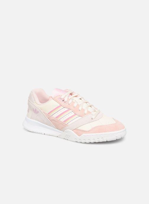 Skateboard Schuhe: Adidas Originals Gazelle Damen RosaChalk