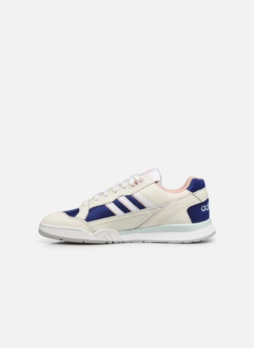 Trainers adidas originals A.R. Trainer W White front view