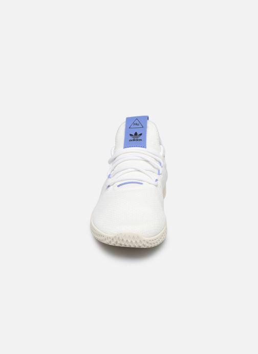 Sneaker adidas originals Pw Tennis Hu weiß schuhe getragen