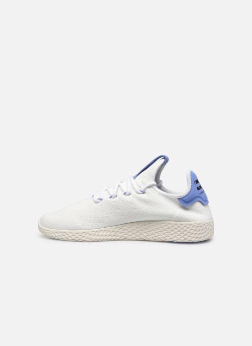 Sneaker adidas originals Pw Tennis Hu weiß ansicht von vorne