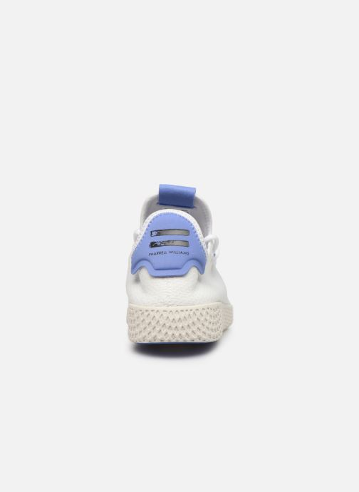 Sneaker adidas originals Pw Tennis Hu weiß ansicht von rechts