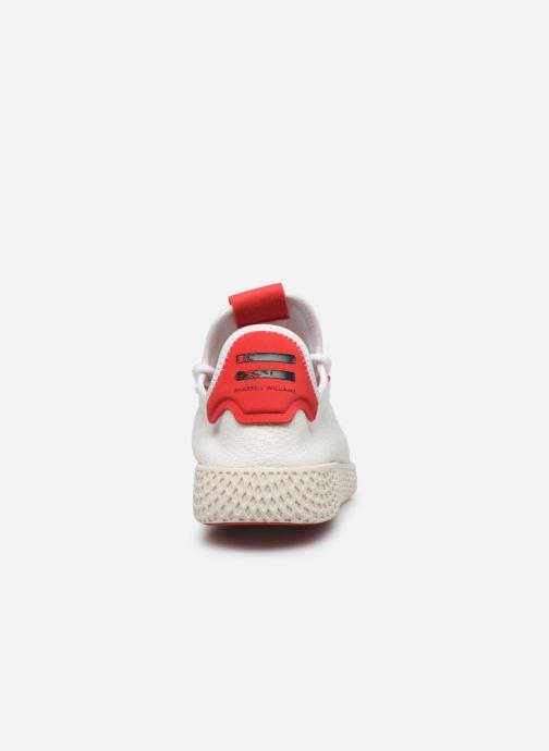 Baskets adidas originals Pw Tennis Hu Blanc vue droite