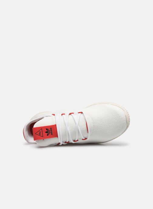 Baskets adidas originals Pw Tennis Hu Blanc vue gauche