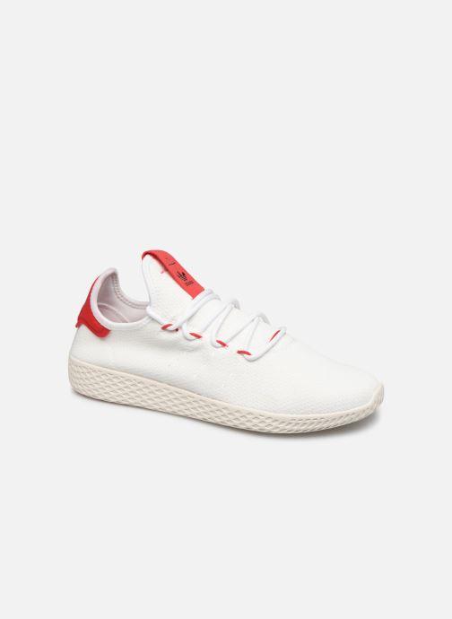 Baskets adidas originals Pw Tennis Hu Blanc vue détail/paire