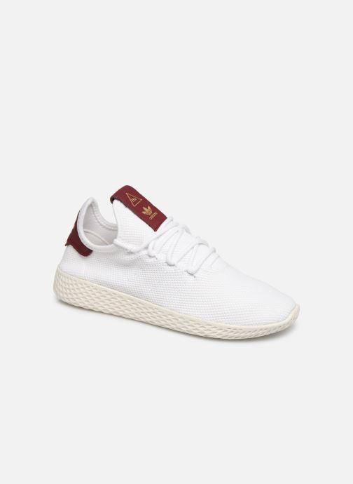 Baskets adidas originals Pw Tennis Hu W Blanc vue détail/paire