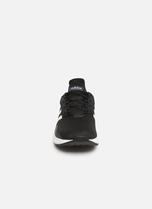 Chaussures de sport adidas performance Duramo 9 Noir vue portées chaussures