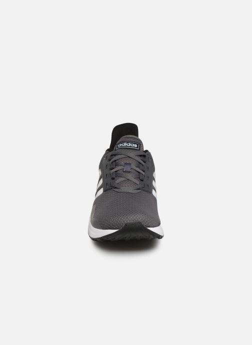 Scarpe sportive adidas performance Duramo 9 Grigio modello indossato