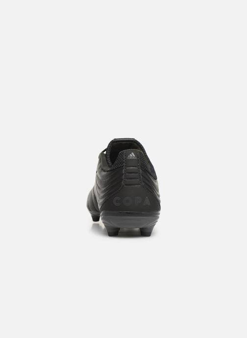 Chaussures de sport adidas performance Copa 19.3 Fg Noir vue droite