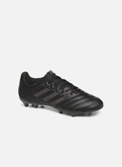 Chaussures de sport adidas performance Copa 19.3 Fg Noir vue détail/paire