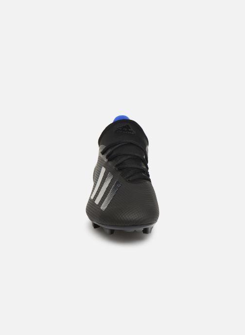 Chaussures de sport adidas performance X 18.3 Fg Noir vue portées chaussures