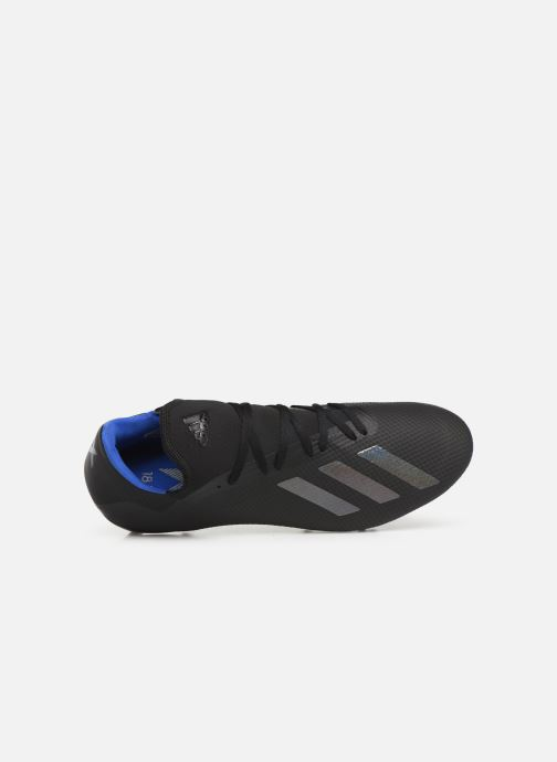 Sport shoes adidas performance X 18.3 Fg Black view from the left