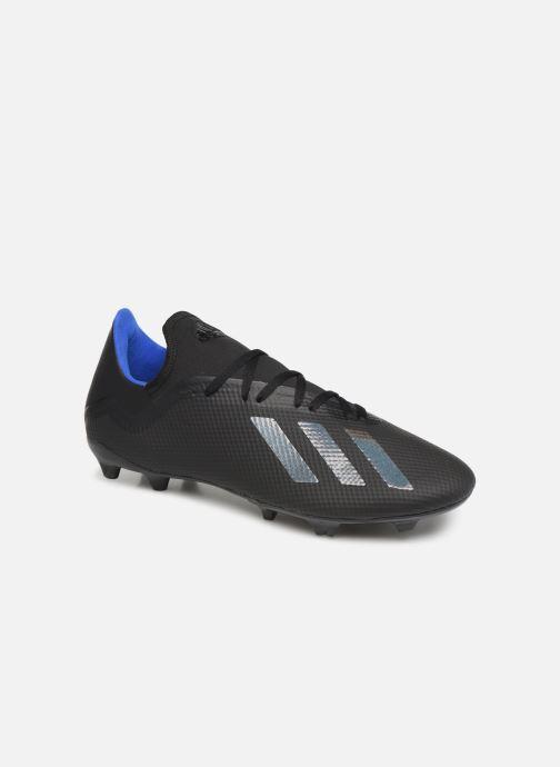 Sport shoes adidas performance X 18.3 Fg Black detailed view/ Pair view