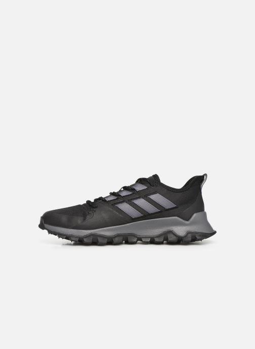 Sportschoenen adidas performance Kanadia Trail Zwart voorkant