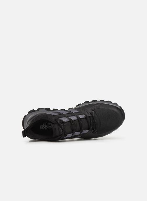 Chaussures de sport adidas performance Kanadia Trail Noir vue gauche