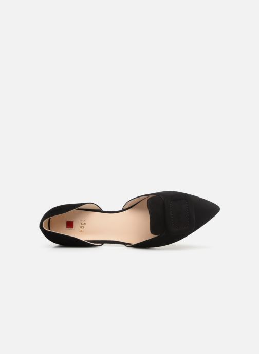 Ballet pumps HÖGL Candy Black view from the left