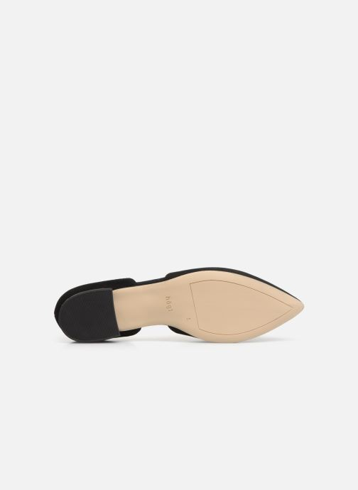 Ballet pumps HÖGL Candy Black view from above
