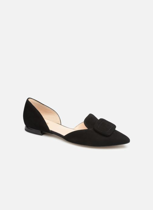 Ballet pumps HÖGL Candy Black detailed view/ Pair view
