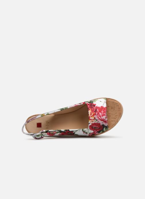 Sandalias HÖGL Seaside Multicolor vista lateral izquierda